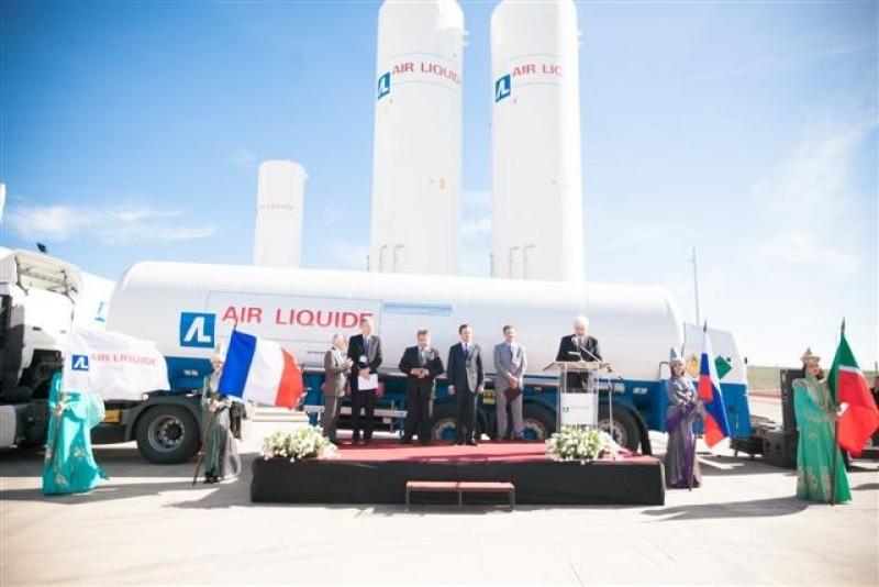 Открытие завода «Air-Liguide»