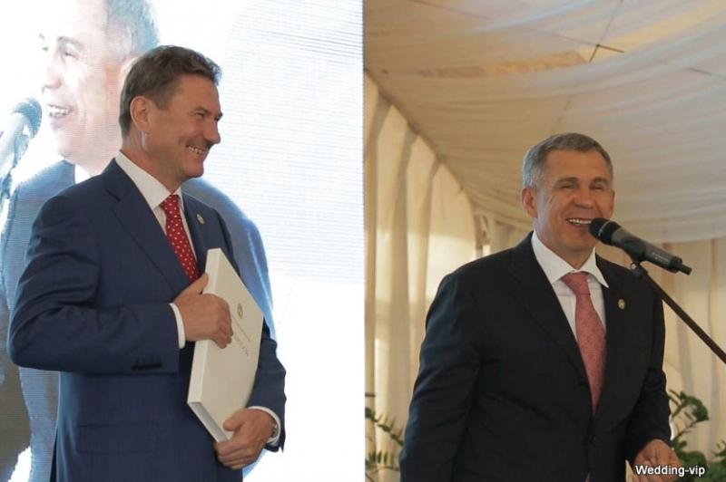 Юбилей Зарипова Равиля Хамматовича, министра промышленности РТ